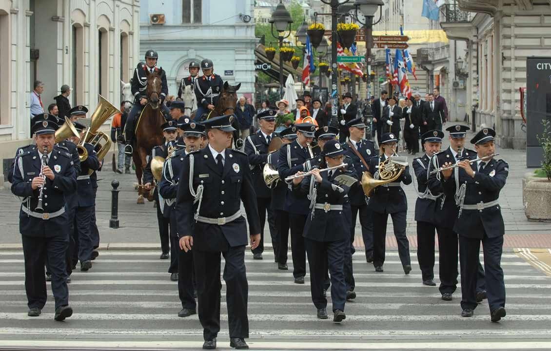 Orkestar policije Srbije, Srbija